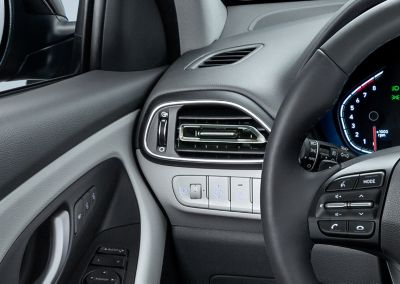 Redesigned air vents in the new Hyundai i30.